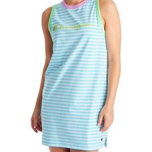 NWT Champion Campus Striped Tank Dress
